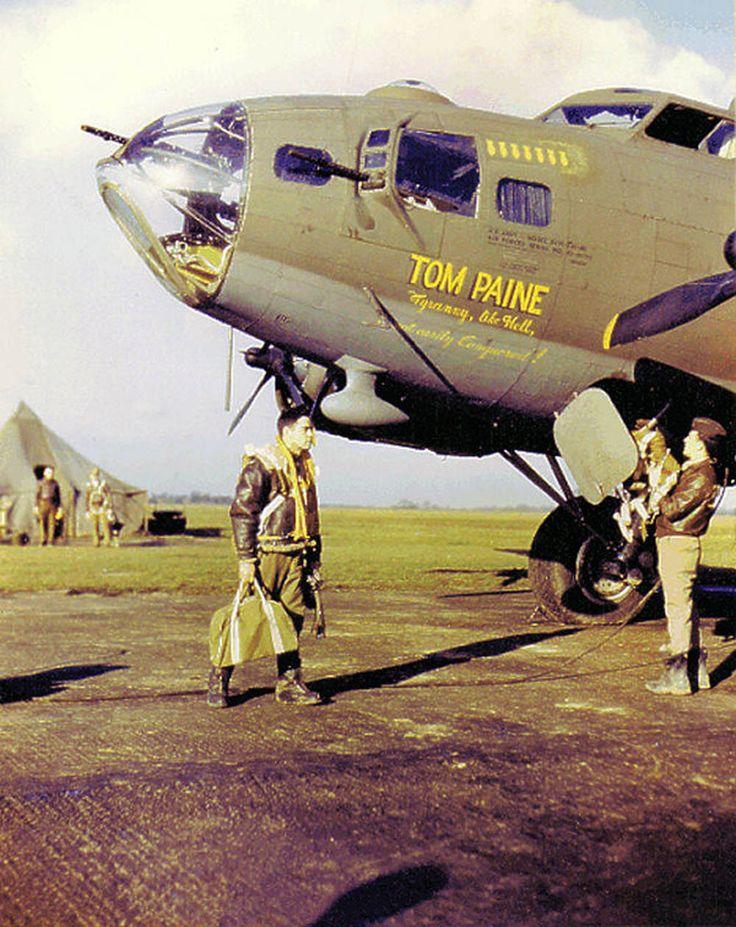 "B-17 "" TOM PAINE """