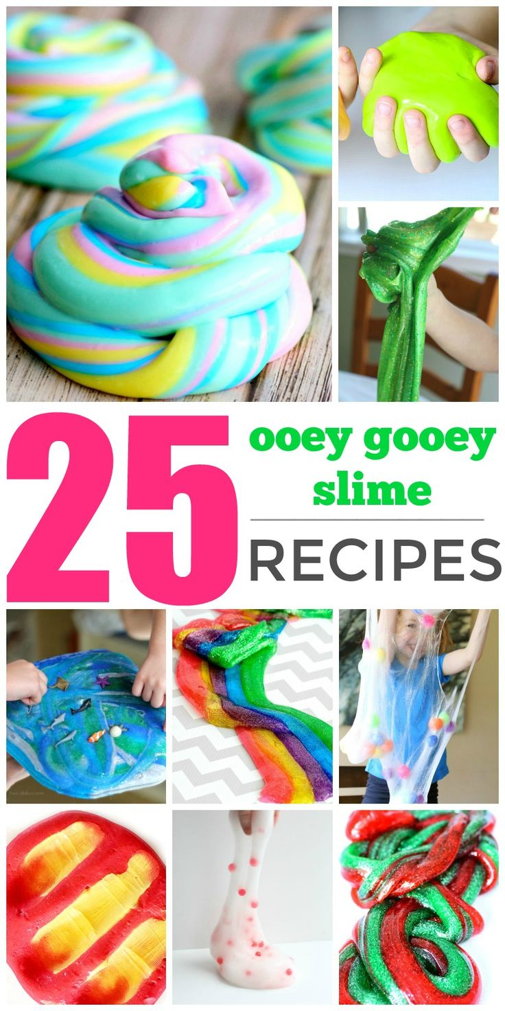 25 Ooey Gooey Slime Recipes