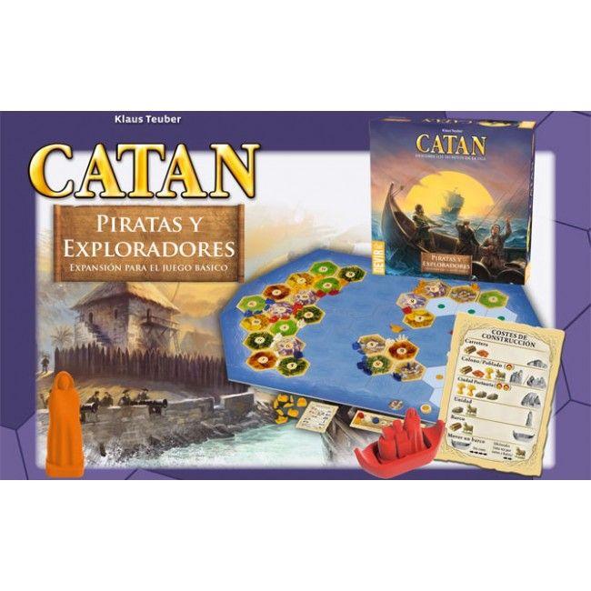 Los Colonos de Catan - Piratas y Exploradores