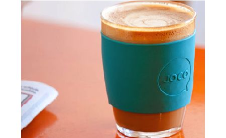 Joco reusable coffee cups: minimises waste, cups are BPA free, recycled packaging, made in Australia