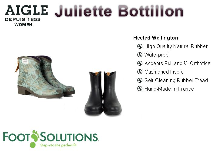 Aigle Juliette Bottillion - Women // Autumn 2014
