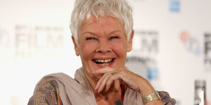 Actress Judi Dench Gets Her First Tattoo at 81 Years Old - GoodHousekeeping.com