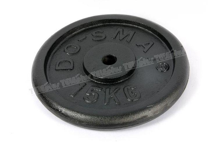 Do-Smai AG-891 Döküm Ağırlık 15 KG - Do-Smai 15 kg Siyah Döküm Plaka  Siyah döküm plaka ağırlığı 15 kg. 'dır.   Vücut geliştirme, fitnes veya halter sporlarında kullanabileceğiniz ağırlıklardır.  - Price : TL133.00. Buy now at http://www.teleplus.com.tr/index.php/do-smai-ag-891-dokum-agirlik-15-kg.html