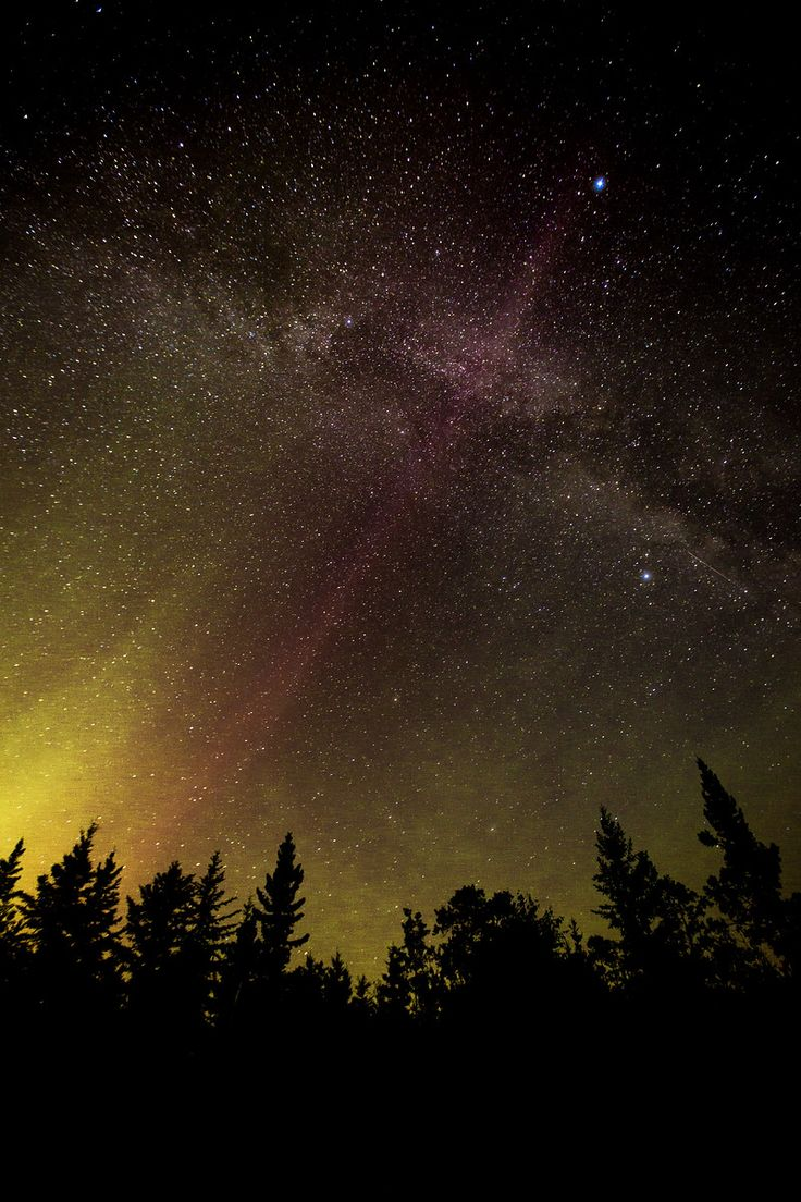 """Northern lights and Milky Way - Loon Lake, Saskatchewan from Matador Network's """"12 Images That Make Me Proud To Call Canada Home"""""""