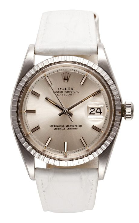 Shop Vintage Stainless Steel Rolex Oyster Perpetual Datejust by Cmt Fine Watch and Jewelry Advisors Now Available on Moda Operandi