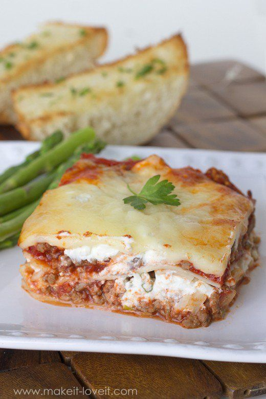 Creamy and Cheesy Lasagna...a treasured Family Recipe!