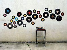 record wall art by Vinilo. #recordart #vinyl http://www.pinterest.com/TheHitman14/for-the-record/