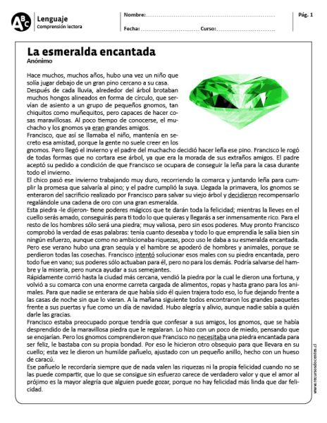 """La esmeralda encantada"""""""