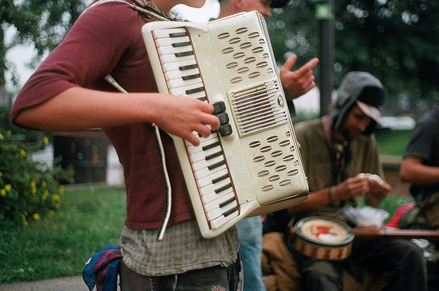 accordions are my favorite instrument.