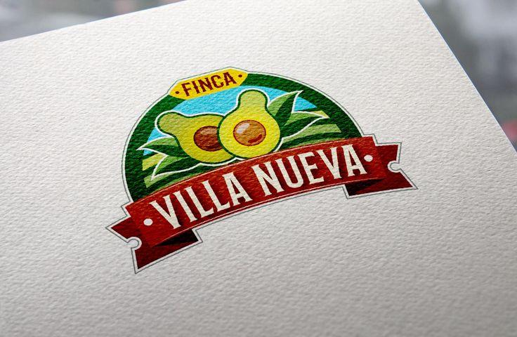 Logo para una finca de producción de aguacate