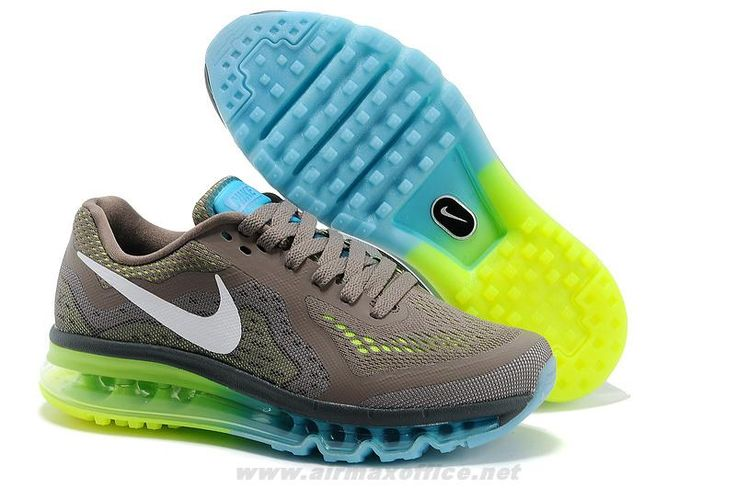 Buy Grey White Nike Air Max 2014 Mens Shoes 2014 Free Shoes