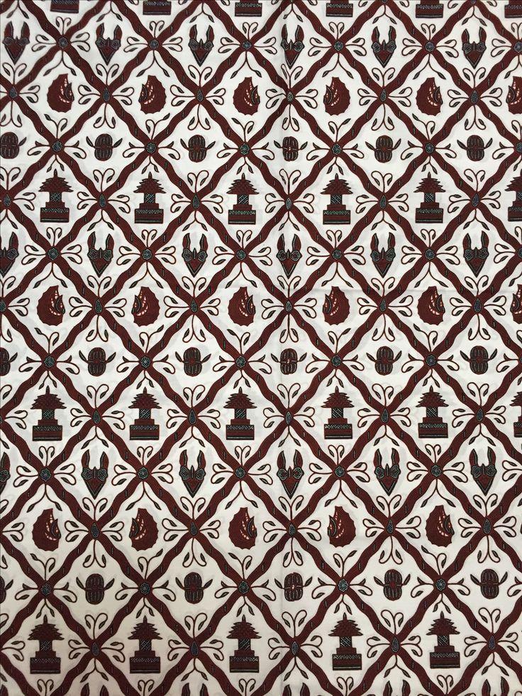 Batik Jogja - Sido Luhur latar pethak