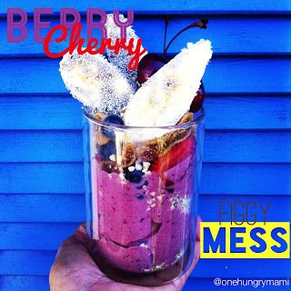 Berry Cherry Figgy Mess