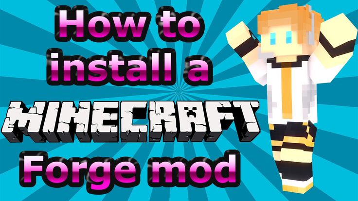 How to Install Minecraft Forge Mods - Minecraft Mod Tutorial (1.7.10 Tes...