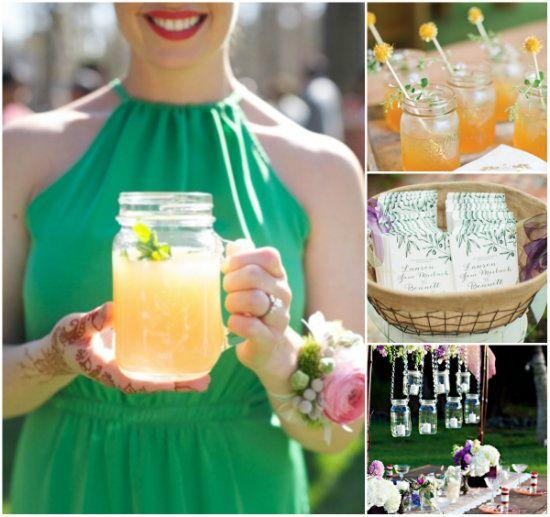 8 best Einmachglser im Einsatz images on Pinterest  Mason jars Hochzeit deko und Hochzeiten