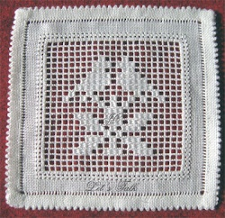 white work embroidery - judy