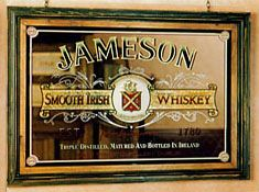 Jameson Irish Whiskey Mirror