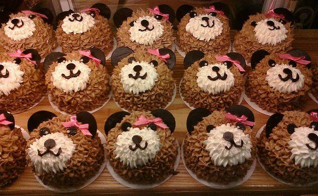 teddy bear minni cake, it's delicious :p