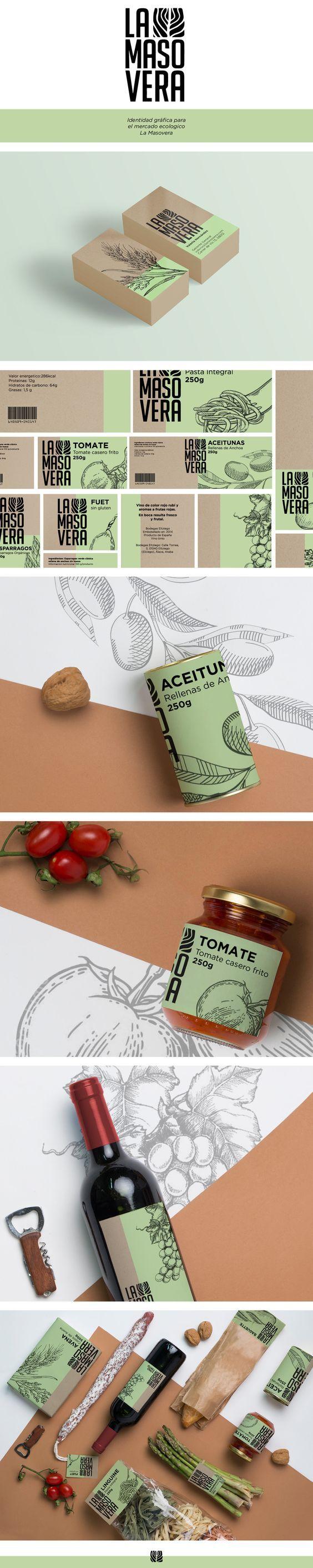 La Masovera Branding y empaquetado de alimentos por Valeria Hernandez |  Agencia de Branding Fivestar - Diseño y la Agencia de Branding & Inspiration Gallery Curada