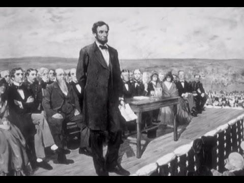 History of President Abraham Lincoln's Gettysburg Address.  #gettysburgaddress #homeschoolingresources