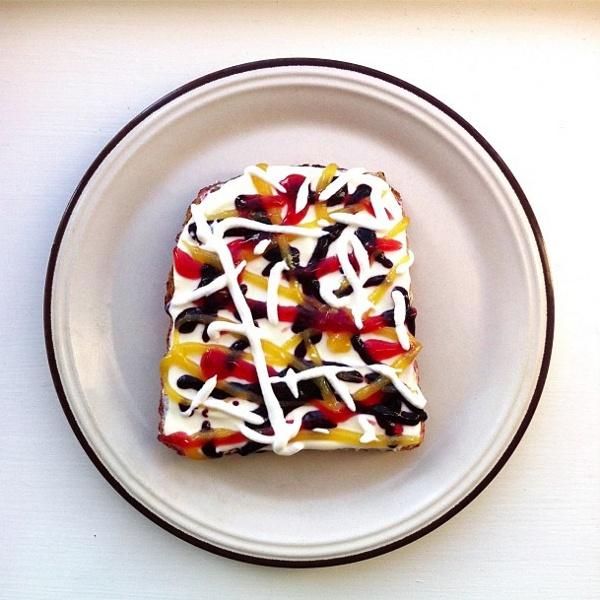 Pollock toast  | Idafrosk