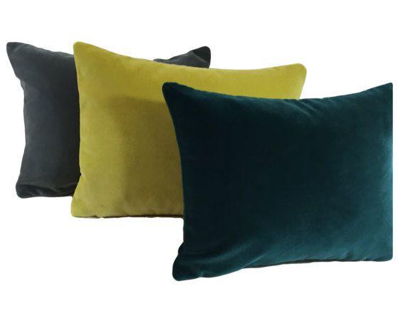 Designers Guild Velvet cushion covers - pillow throws  3ba9430262e5d