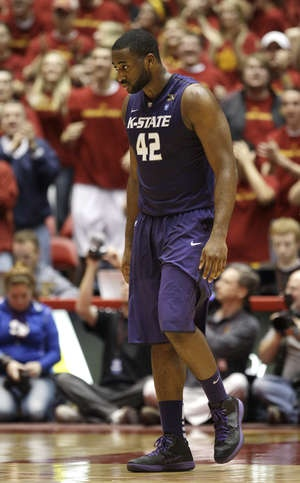 Kansas State freshman Thomas Gipson learned in high school how to be team leader.