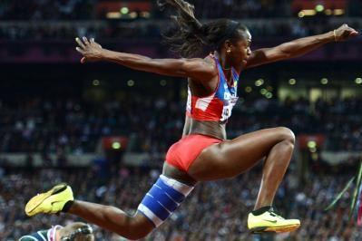Colombiana Caterine Ibargüen ganó medalla de oro en mundial de atletismo