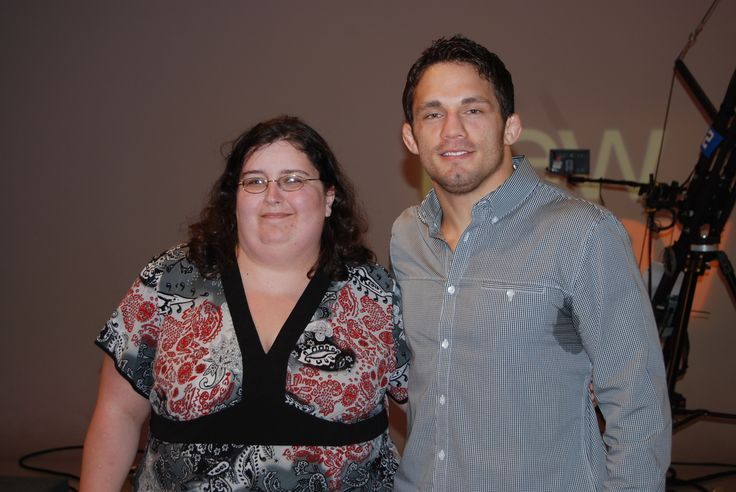this awesome picture of me and jake ellenberger