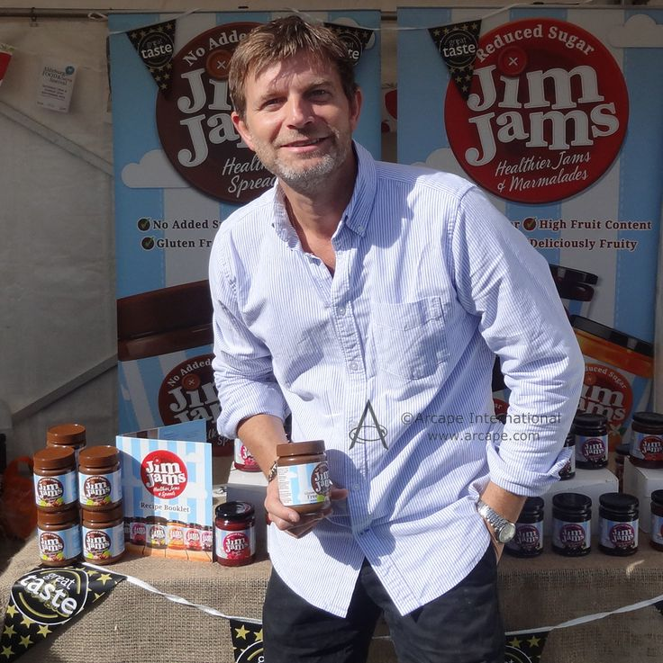 Delighted to meet and speak to JimJams Jams & Spreads.