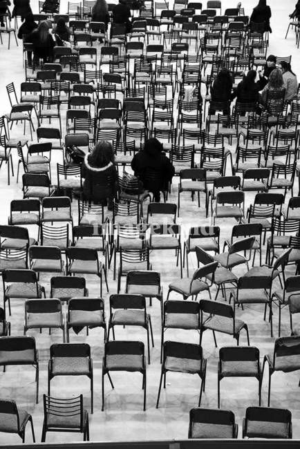 Empty places. Original photograph by Felix Padrosa