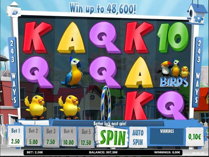 Spielen online kostenlos Spielautomat Happy Birds - http://freeslots77.com/de/happy-birds/