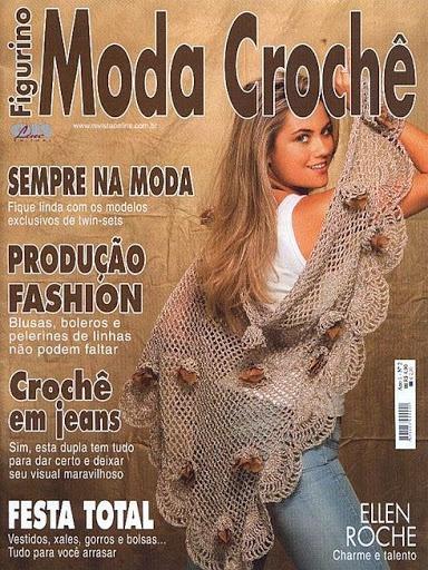 Moda Knitting Books : Figurino moda croche a�o i n� qkyna picasa t mek a