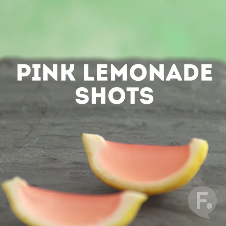 Lemonade Gelatin Shots