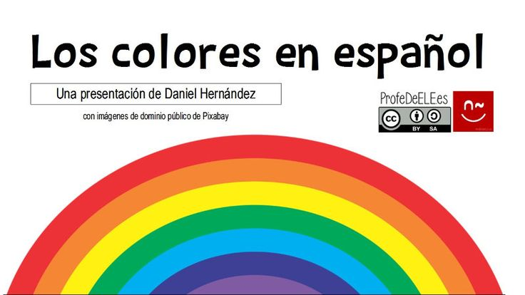 41 best images about los colores on pinterest color for Colors in spanish