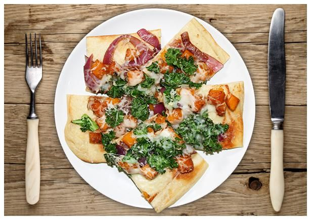 Squash & Kale Flatbread | HelloFresh Recipe