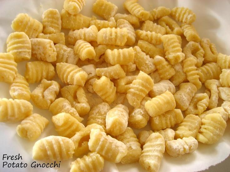 Potato gnocchi recipe | yummies | Pinterest