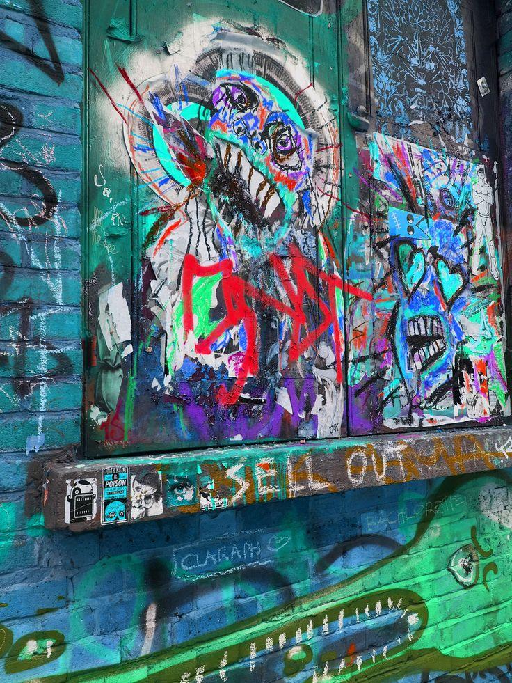Shoreditch Graffiti: Graffiti - Brick Lane, Shoreditch, London