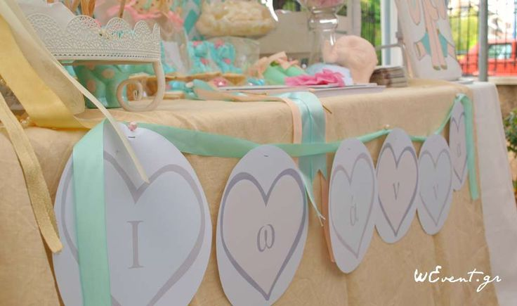 Rain / Umbrellas Baptism Party Ideas | Photo 2 of 22