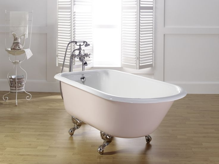 ROLL TOP bathtub, with Ball and Claw feet