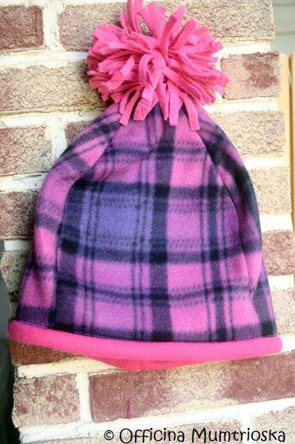 Mumtrioska: Lunedi di Tutorial: Facciamo insieme un cappello in pile !
