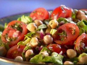 Spicy Chickpea Salad Recipe
