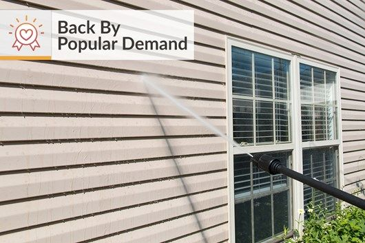 Diy Tips For How To Power Wash Siding Clean Cleaning Vinyl