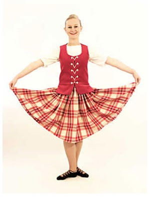 Aboyne with raspberry vest #macgregor #pink #tartan