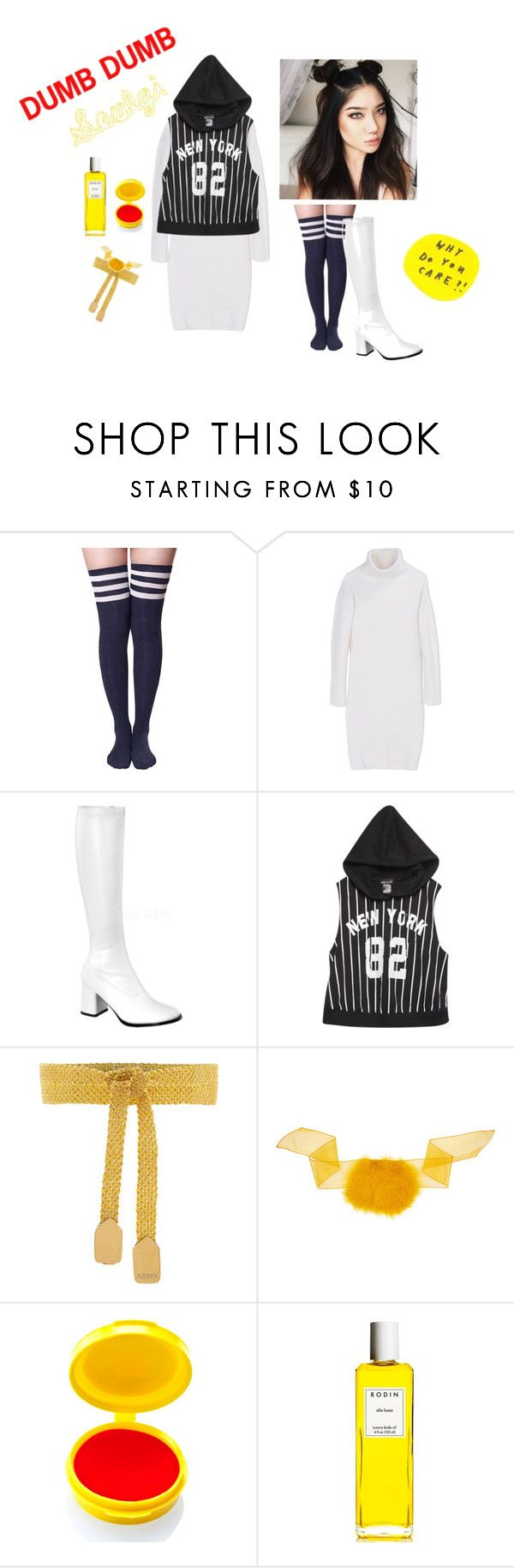"""Dumb Dumb rv Seulgi"" by kkateyg on Polyvore featuring DKNY, Wet Seal, Assya, Sonia Rykiel, Medusa's Makeup and Rodin Olio Lusso"