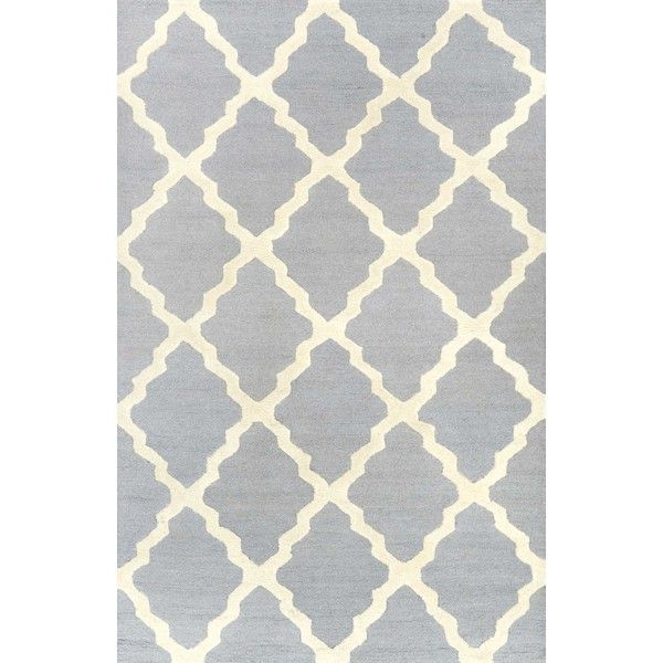 HomespunMoroccan Trellis Rug ($24) ❤ liked on Polyvore featuring home, rugs, wave rug, diamond pattern rug, trellis area rug, trellis rug and harlequin rugs