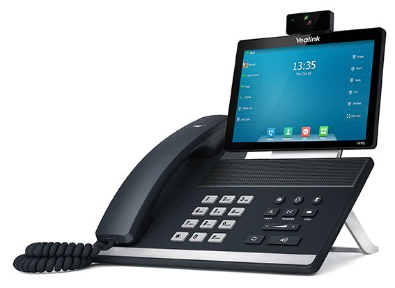 Hosted PBX handset from Yealink SIP T49G