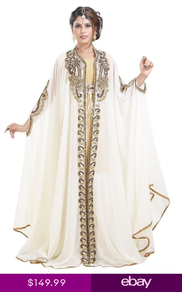 TRADITIONAL SELJUQ TURKISH WEDDING GOWN NIQQAH ABA…