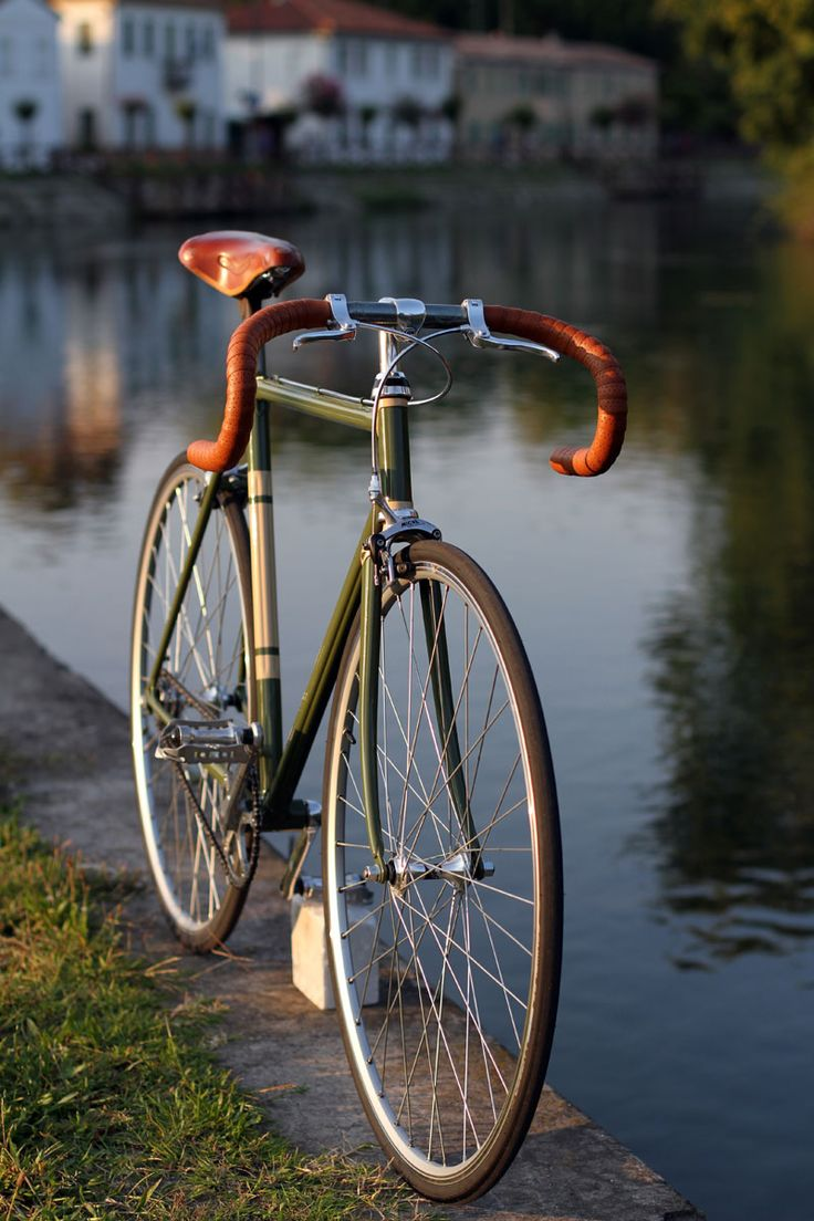 "Bici singlespeed ""Carso"" in tubi stellari Oria ML25 Biascagne Cicli"