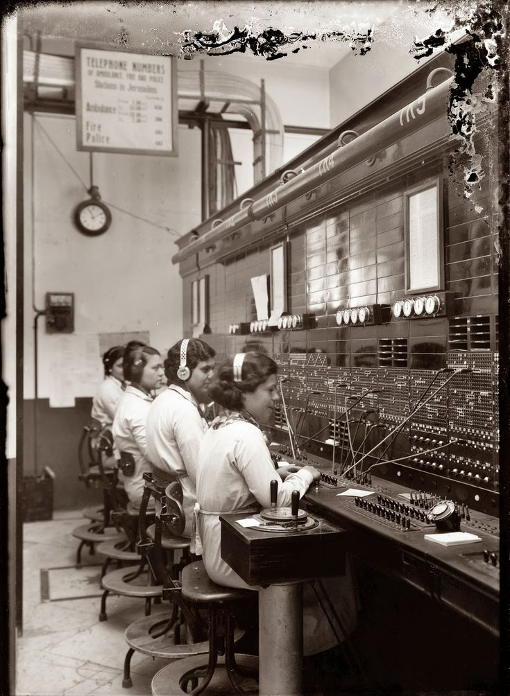 In the early days of telephony, through roughly the 1960s, companies used manual telephone switchboards and switchboard operators connected ...